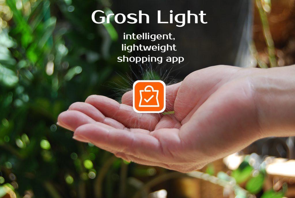 next generation of shopping app Grosh