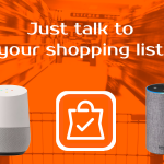 Talk to your shopping list